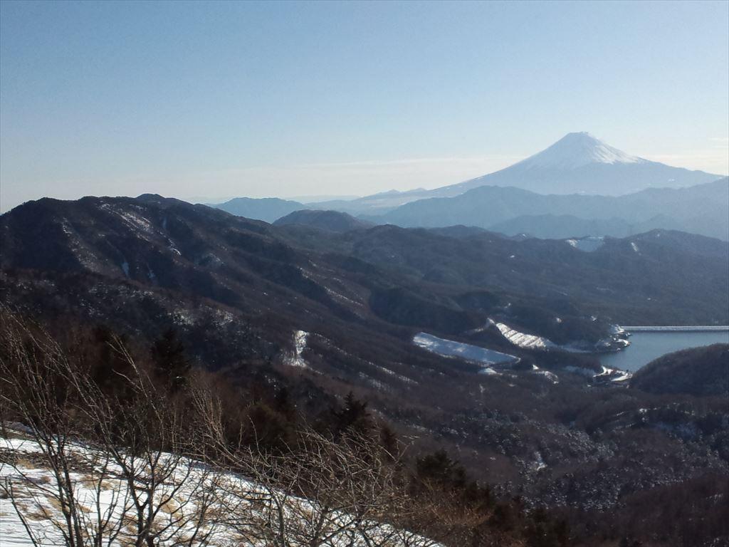 大菩薩嶺  ふたたび 日帰り登山(2015.1.18)