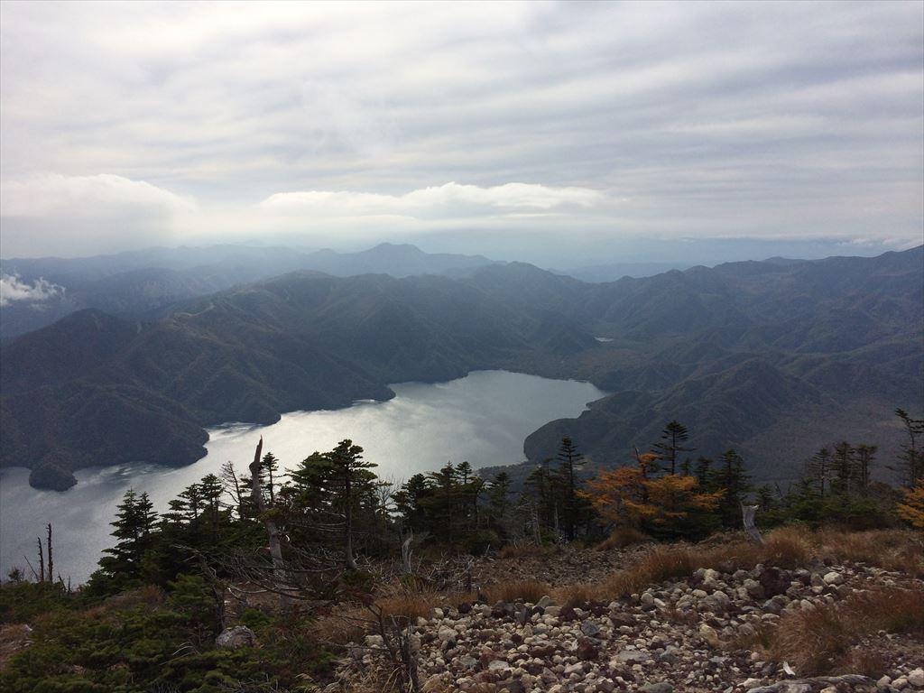 男体山  日帰り登山 残暑に挑む2486mの高峰(2014.10.5)