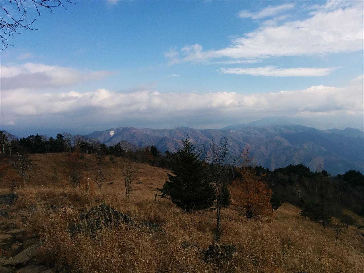 乾徳山 登山 ツキに見放された日(2015.11.7)
