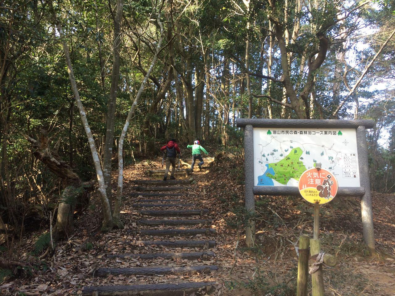 油山 子供と自然を繋ぐ道 登山(2015.12.29)