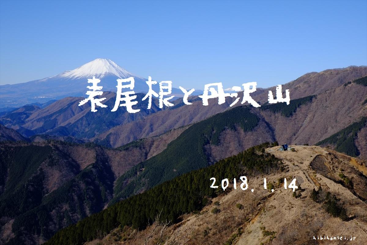 表尾根縦走と丹沢山 登山(ヤビツ峠) ボンビーが薦める湘南の海と富士の大展望 都心近郊の金欠の峰