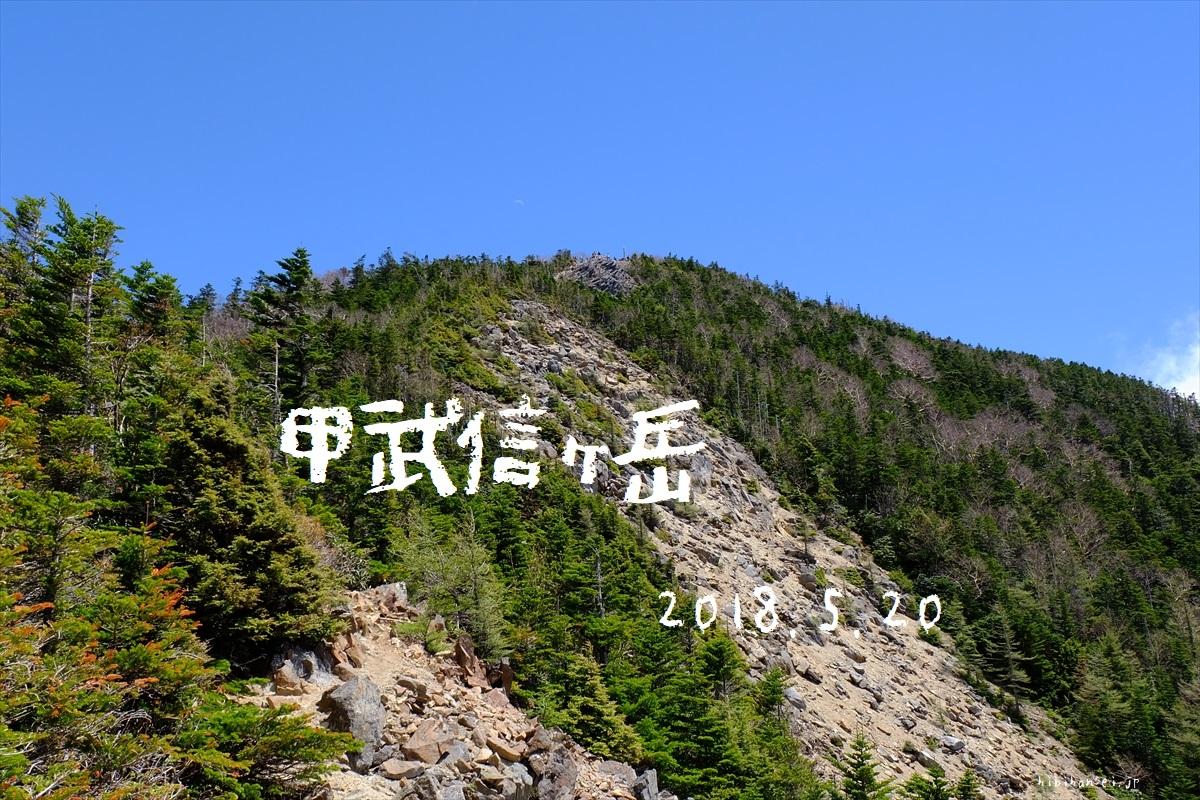 甲武信ヶ岳(毛木平) 日帰り登山 そうだ蕎麦食おう!千曲川源流と青空に突き立つ標柱の峰