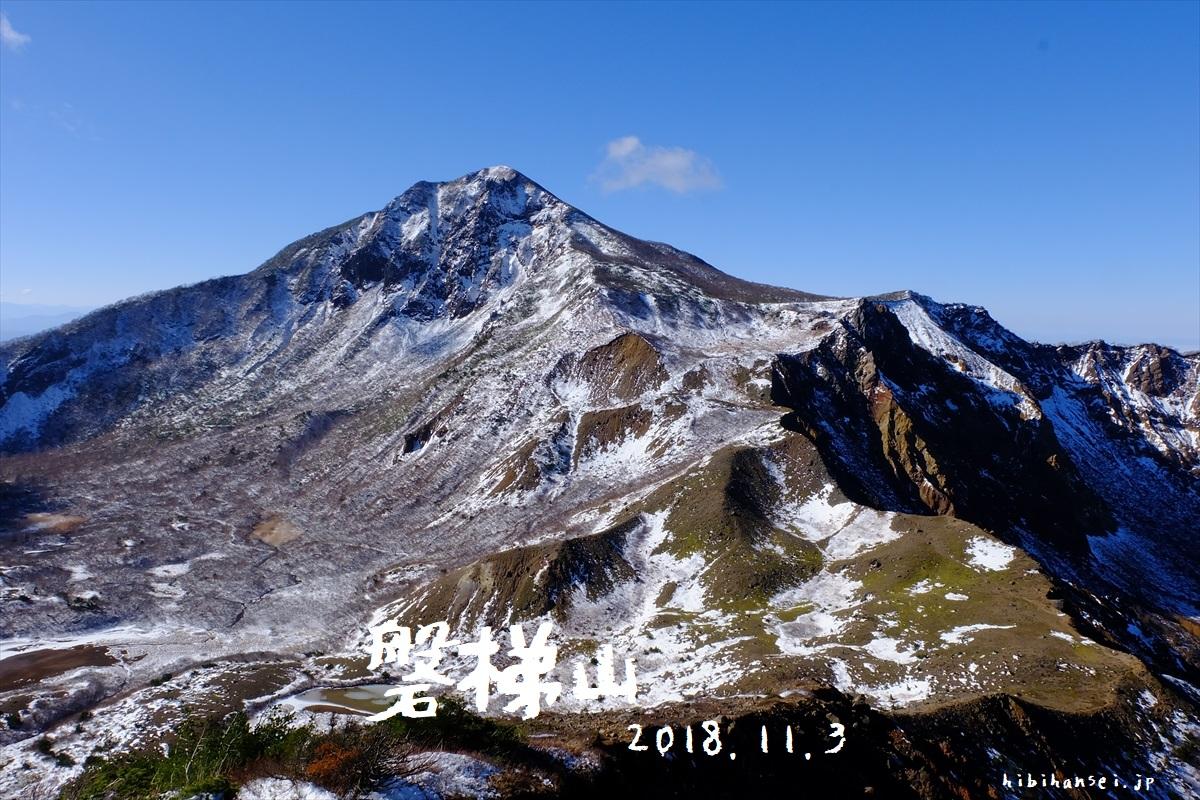 磐梯山 登山(裏磐梯スキー場) 銅沼からの絶景と宝の峰