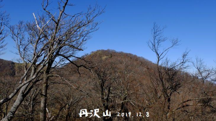 丹沢山と塔ノ岳 紅葉登山(ヤビツ峠) 塔ノ岳へと続く表尾根は富士山と海の大展望