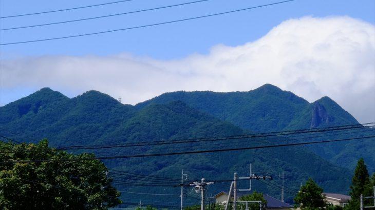 子持山 登山 獅子岩で吠えろ!原生林の緑が眩しい十二山神とオオムラサキの峰