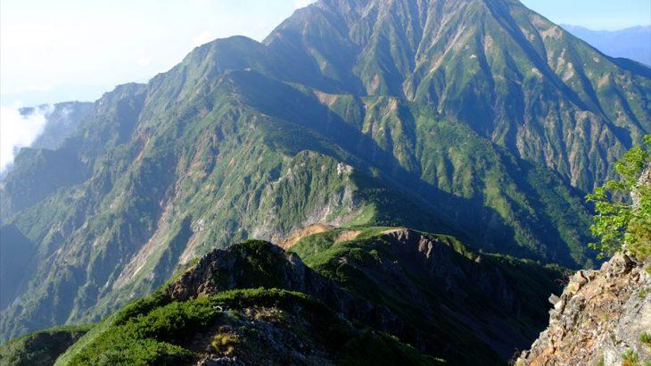 五竜岳~唐松岳 登山 点を線で繋げ!猿に見送られるゴートゥ夏アルプスの旅