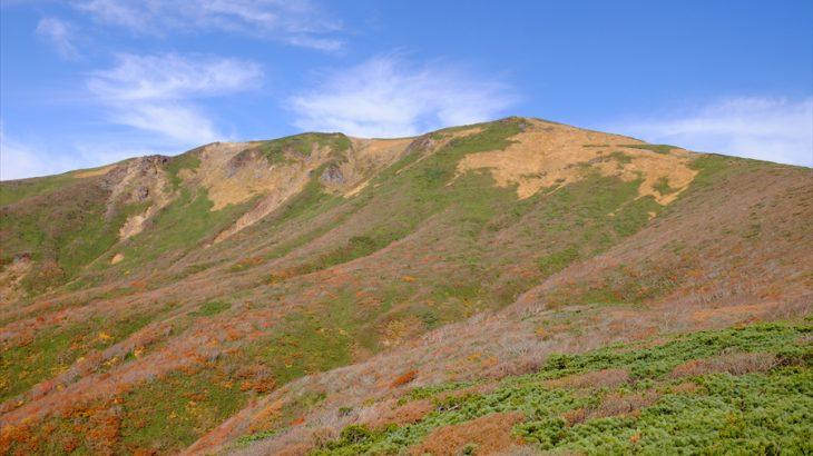 栗駒山 紅葉登山(いわかがみ平) Go To 宮手県!神の絨毯と草紅葉そよぐハラコ飯の峰
