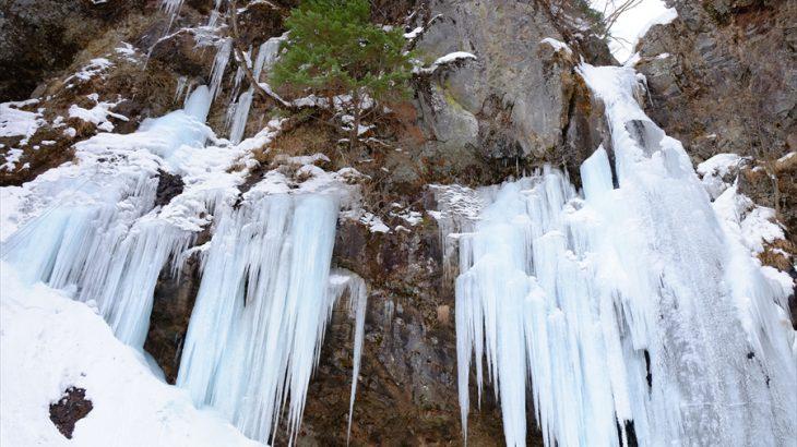 庵滝の氷瀑と戦場ヶ原スノートレッキング 老いを感じた吹雪の中のゆるふわ撮影会