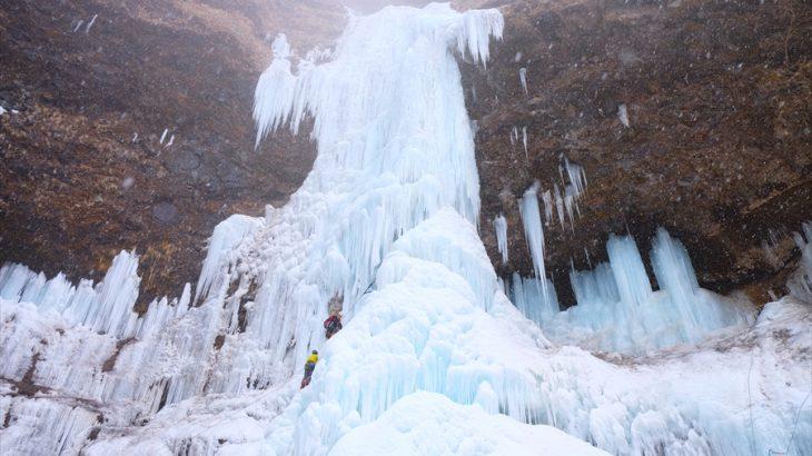 雲竜渓谷の氷瀑 低気圧にジャストミート! 糖度50のきゃぴきゃぴ登山