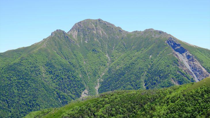 【南アルプス】塩見岳 SDGsだに! ガンダーラへの長く険しい道のりと天の川(三伏峠小屋テント泊)